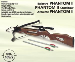 Crossbow 169/2 Phantom II 150 ft/lb by Megaline of Italy